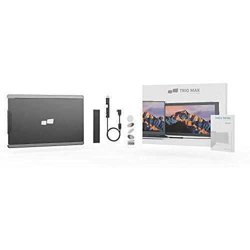 Mobile Pixels 14.1'' Trio Max 受賞歴のあるモバイルモニター,モバイルディスプレイ,ーフル HD IPS 液晶パネル,US