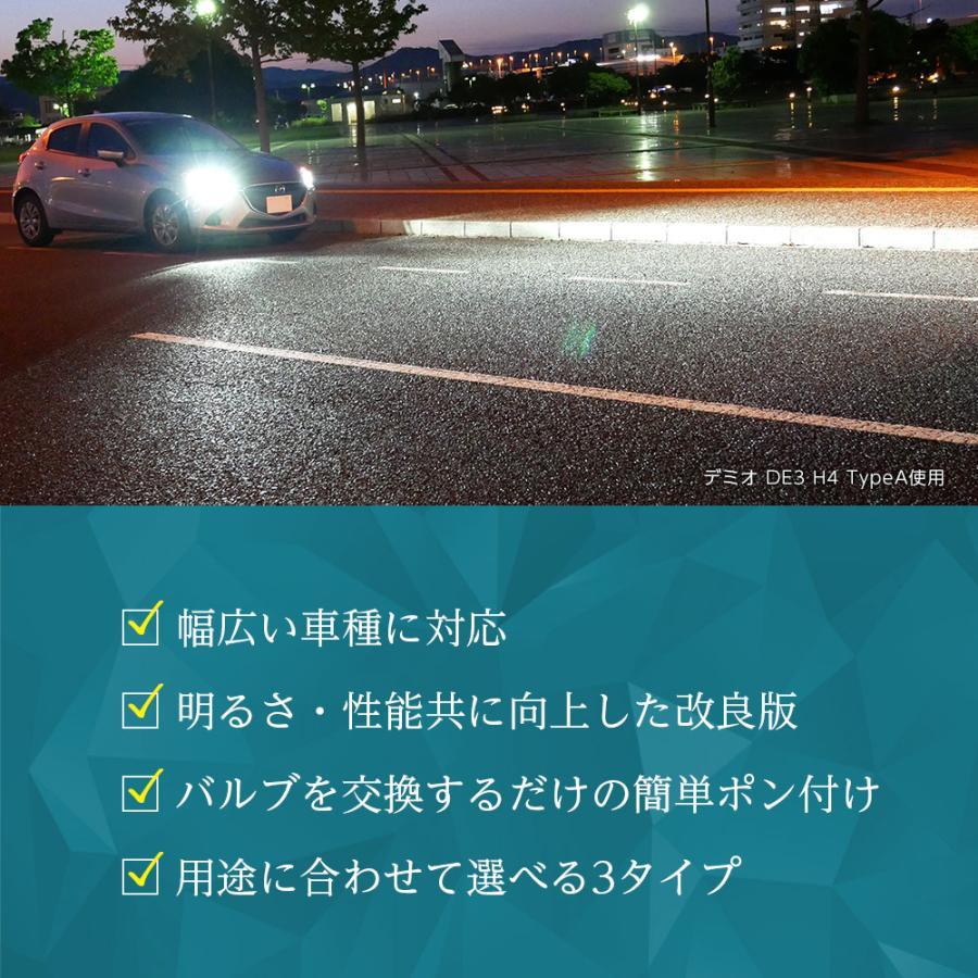 スープラ JZA80 LEDヘッドライト ハイビーム HB3 H8.4〜H14.8 信玄 XR l-c 03