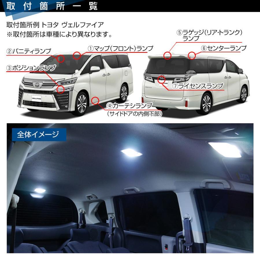 ジムニー ジムニーシエラ JB64 JB74 LEDルームランプ SMD T10プレゼント付 5点166発 安心の1ヵ月保証★ ホワイト|l-c|05