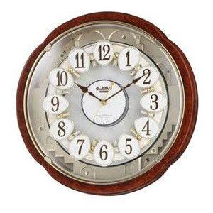 リズム時計工業【CITIZEN】スモールワールドコンベルS 4MN480RH23★電波からくり時計【4MN480RH23】