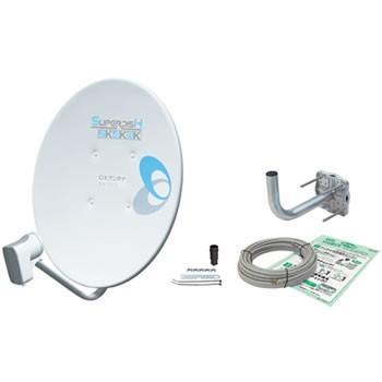 保証 BC453SK DXアンテナ 45形BS 110°CSアンテナ 金具 未使用品 ケーブル付き