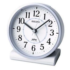 信頼 KR328L セイコー 絶品 電波スタンダード目ざまし時計