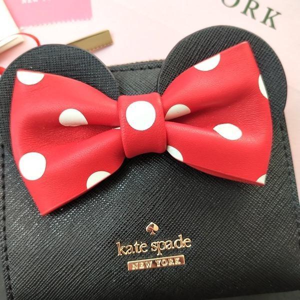 限定品 ケイトスペード ミニーマウス コラボ 財布 コインケース kate spade minie mouse /WLRU6026-001|la-blossoms|02