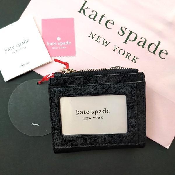 限定品 ケイトスペード ミニーマウス コラボ 財布 コインケース kate spade minie mouse /WLRU6026-001|la-blossoms|03
