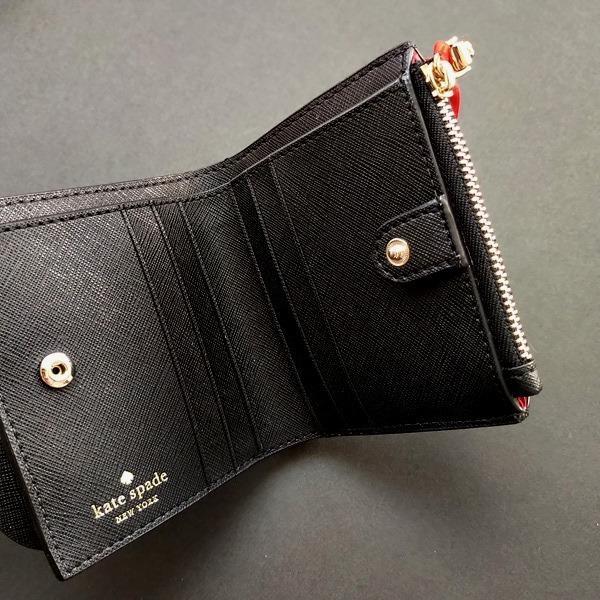 限定品 ケイトスペード ミニーマウス コラボ 財布 コインケース kate spade minie mouse /WLRU6026-001|la-blossoms|04