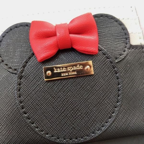 限定品 ケイトスペード ミニーマウス 小物 カードケース kate spade minnie mouse/WLRU6027-974|la-blossoms|02