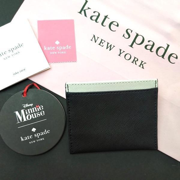 限定品 ケイトスペード ミニーマウス 小物 カードケース kate spade minnie mouse/WLRU6027-974|la-blossoms|03