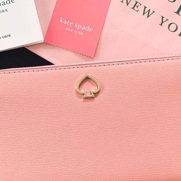 ケイトスペード 財布  長財布 スペード レザー ピンク kate spade/WLRU6029-641 la-blossoms 02
