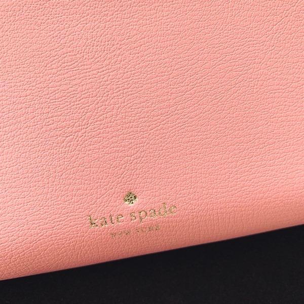 ケイトスペード 財布  長財布 スペード レザー ピンク kate spade/WLRU6029-641 la-blossoms 04