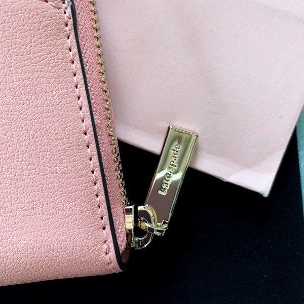 ケイトスペード 財布  長財布 スペード レザー ピンク kate spade/WLRU6029-641 la-blossoms 05