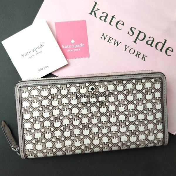 ケイトスペード 財布  長財布 スペード チェーン kate spade/WLRU6295-194 la-blossoms