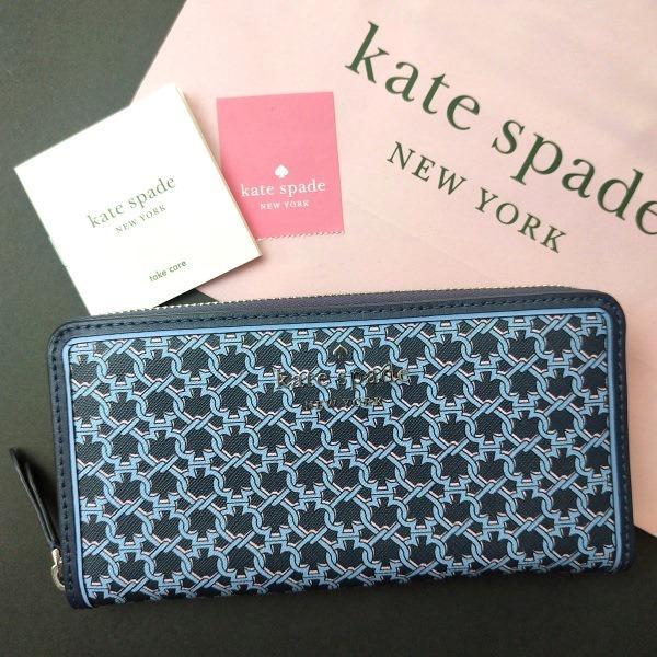 ケイトスペード 財布  長財布 スペード チェーン kate spade/WLRU6295-460|la-blossoms