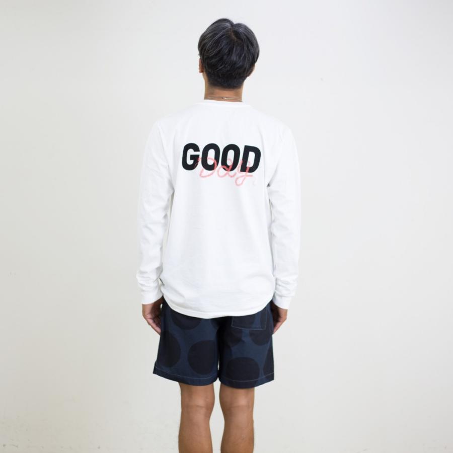 TURN ME ON ターンミーオン /L/S TEE 『 GOOD DAY』  ロンT(WHITE) Mサイズ|la-grande-roue|04