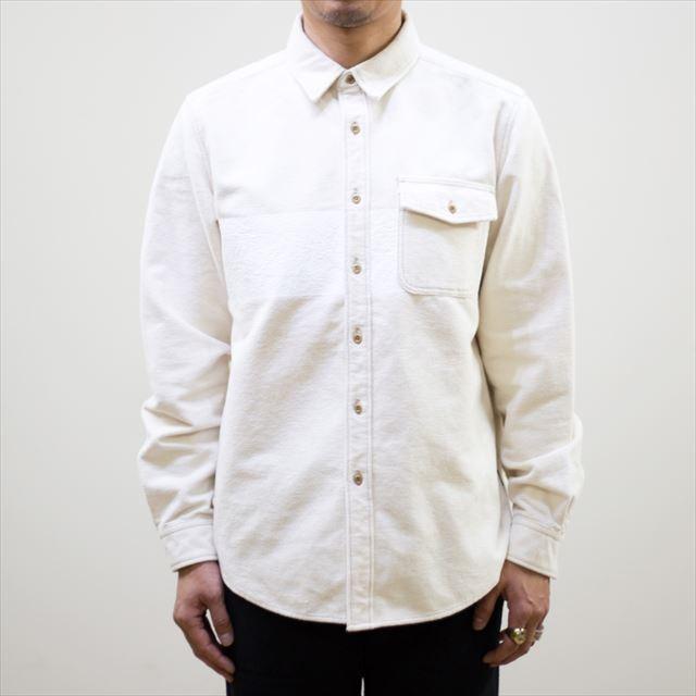 TURN ME ON ターンミーオン /パネルプリント 起毛ネルシャツ(WHITE) Lサイズ la-grande-roue 02