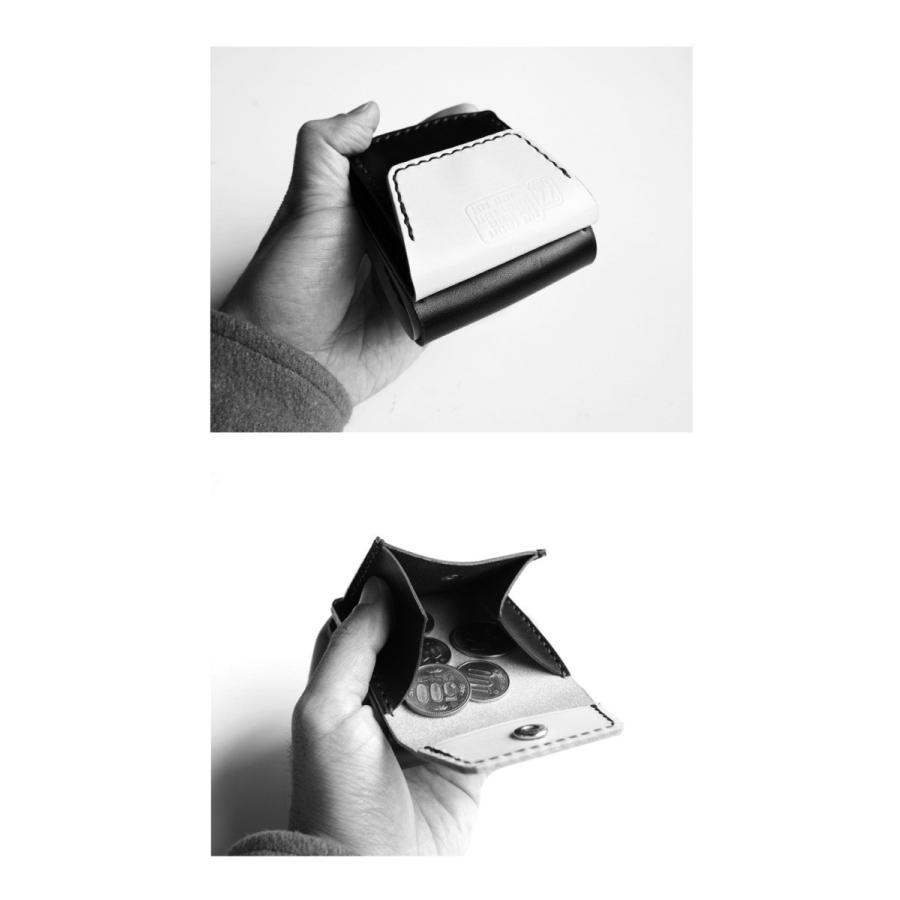 TURN ME ON /ハンドメイドレザーウォレット(刺繍入り) ブラック|la-grande-roue|06