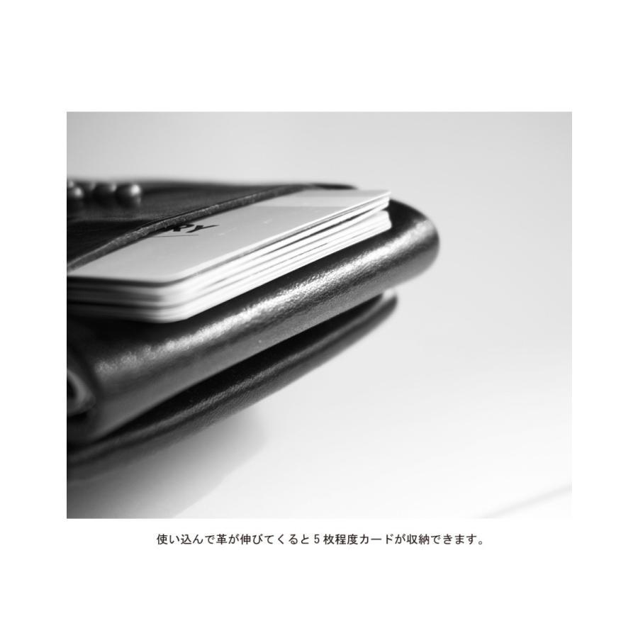 TURN ME ON /ハンドメイドレザーウォレット(刺繍入り) ブラック|la-grande-roue|07