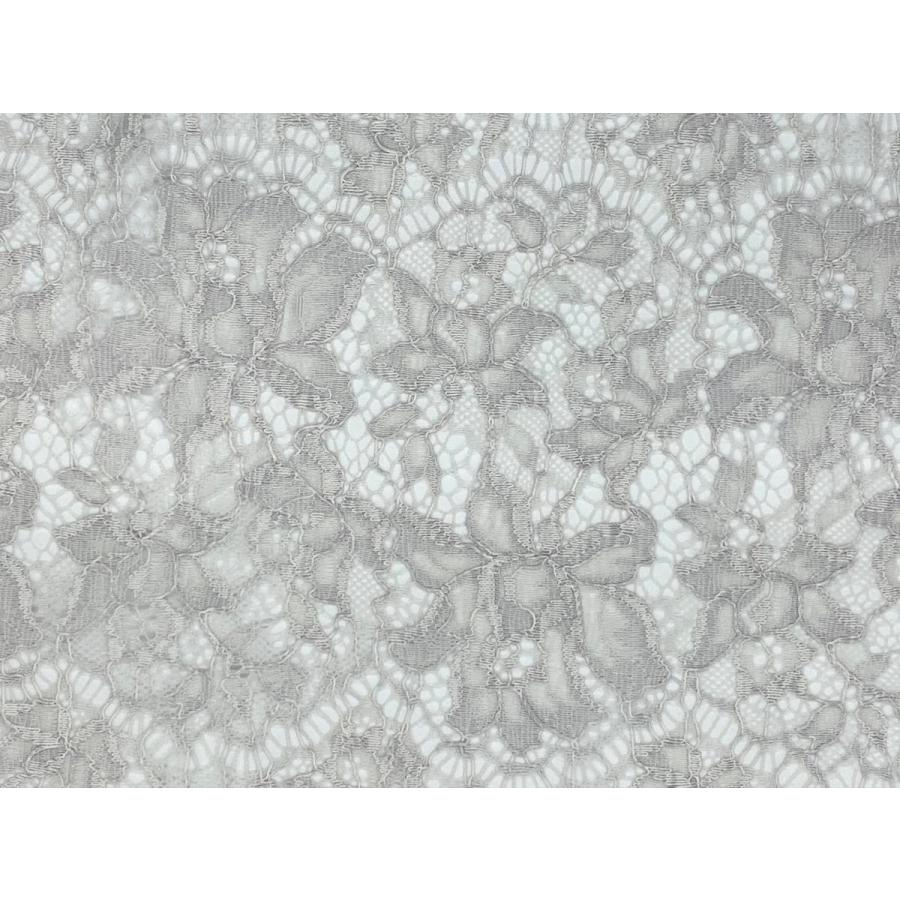 レース 生地 No.82513 レース【ボーダー柄】 50cm単位販売 2色(ライトグレー、ブラック)|lace|11