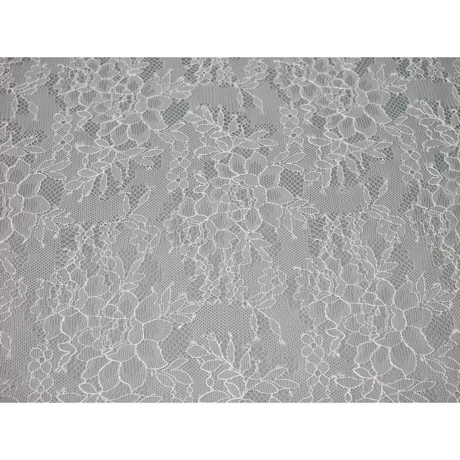レース 生地 No.82732 レース【花柄】【シャンテリー調】 50cm単位販売 lace 06