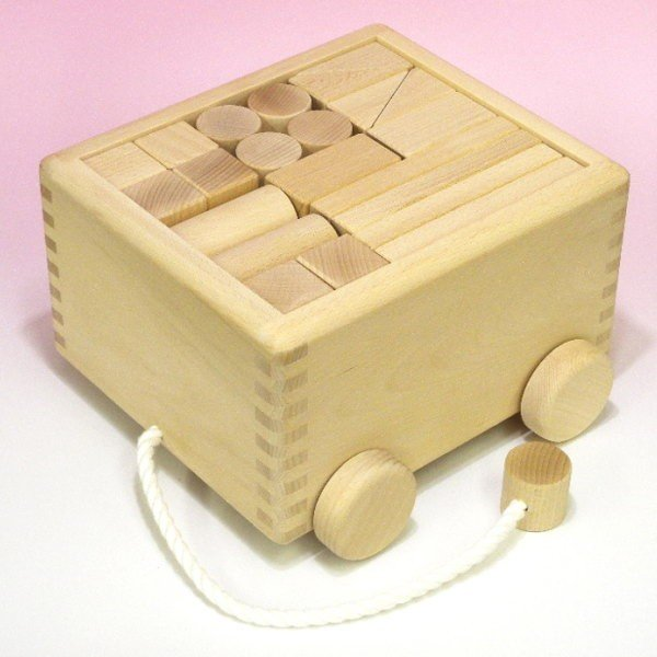 木のおもちゃ 積み木(50ピース)つみ木