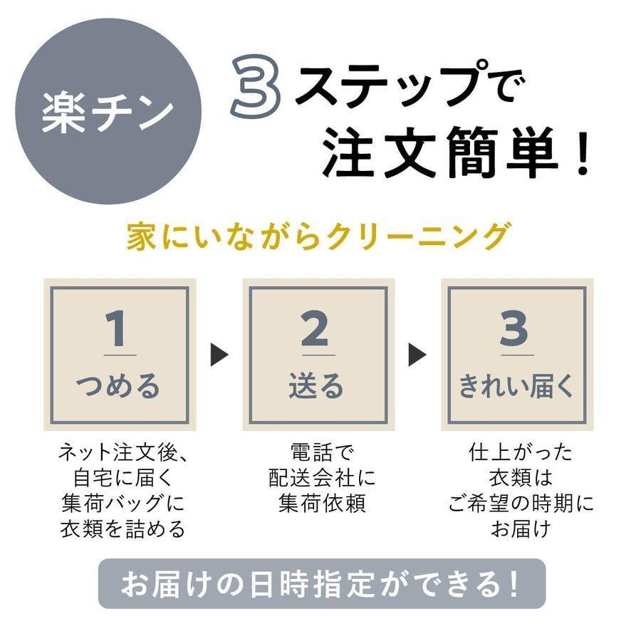 宅配クリーニング 保管 10点セット 長期保管 クリーニング ダウン ジャケット シミ抜き 送料無料|lacuri-creaning|07