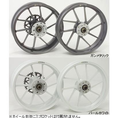 バイク GALE SPEED ホイール 前輪 350-17 ゴールド TYPE-R CBR600RR 07-11 ABS可 28315020 取寄品