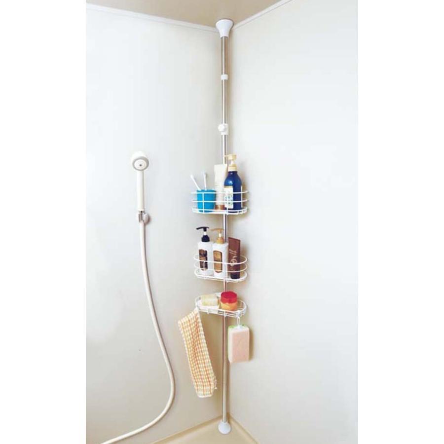 在庫処分価格★突張りラック 浴室突張りラック BLT-25 アイリスオーヤマ|ladybird6353|02