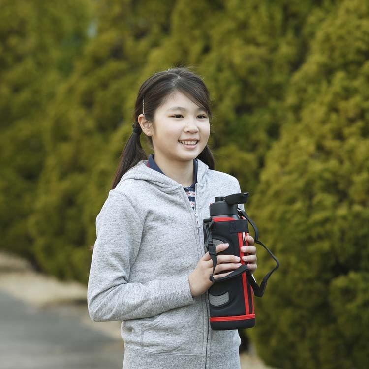 ステンレスケータイボトル ダイレクトボトル DB-1500 レッド ブルー アイリスオーヤマ|ladybird6353|04
