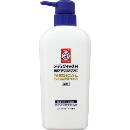 【医薬部外品】メンソレータム メディクイックH 頭皮のメディカルシャンプー 320ml|ladydrugheartshop
