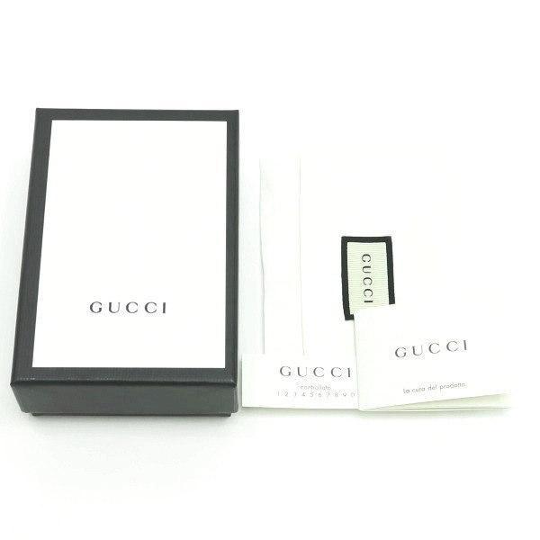 グッチ 6連キーケース GGキャンバス×レザー ブラック 箱付き 127048 新品|lafesta-k|07