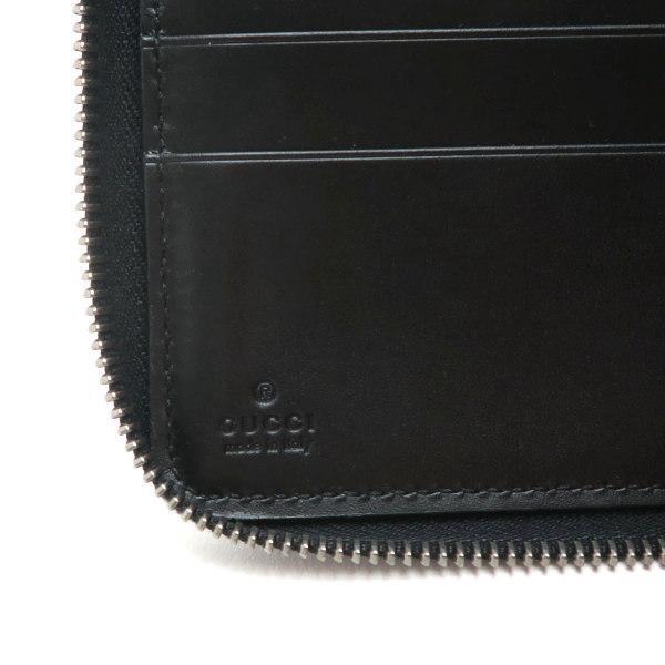 グッチ 長財布 コンチネンタルウォレット レザー ブラック 箱付き 447906 中古(程度極良) lafesta-k 09