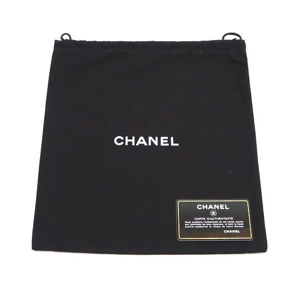 シャネル ニュートラベルライン ウエストポーチ ブラック 黒 Gカード 保存袋付き A29346 中古(程度極良【美品】)|lafesta-k|12