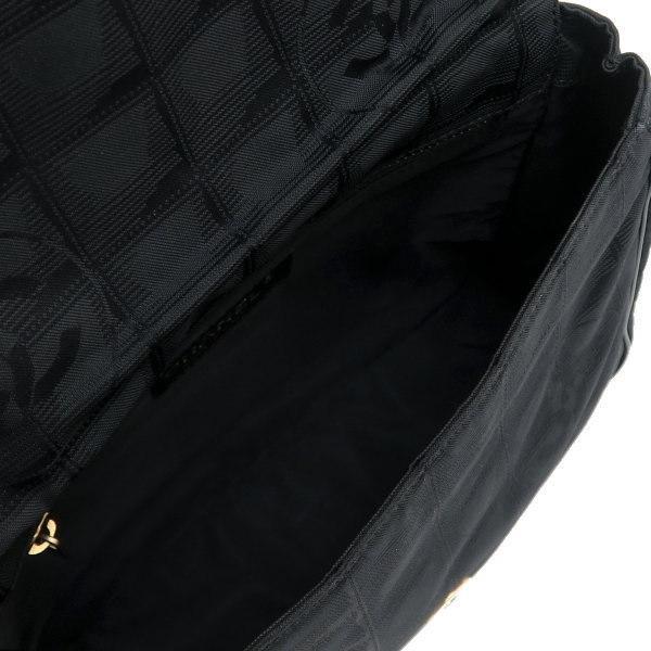 シャネル ニュートラベルライン ウエストポーチ ブラック 黒 Gカード 保存袋付き A29346 中古(程度極良【美品】)|lafesta-k|08
