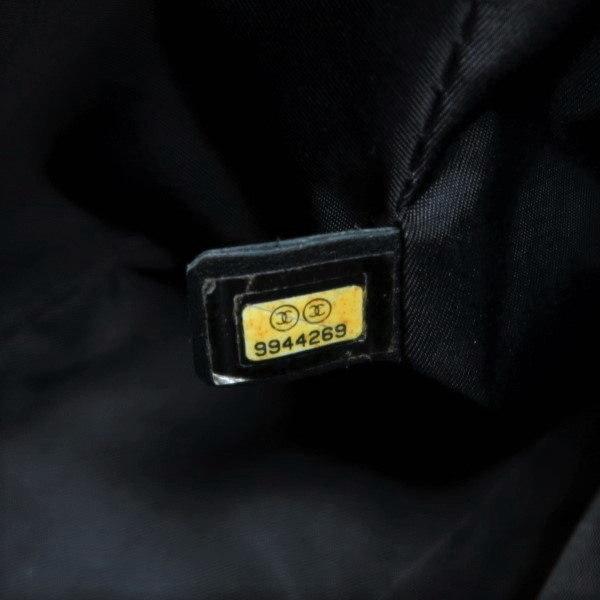 シャネル ニュートラベルライン ウエストポーチ ブラック 黒 Gカード 保存袋付き A29346 中古(程度極良【美品】)|lafesta-k|10