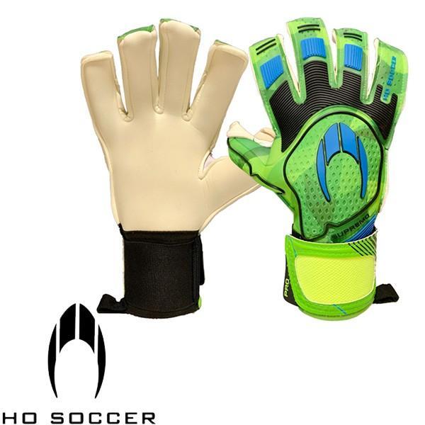 エイチオーサッカー(HO SOCCER) サッカー キーパーグローブ SUPREMO PRO II ROLL NEGATIVE PACIFIC 緑
