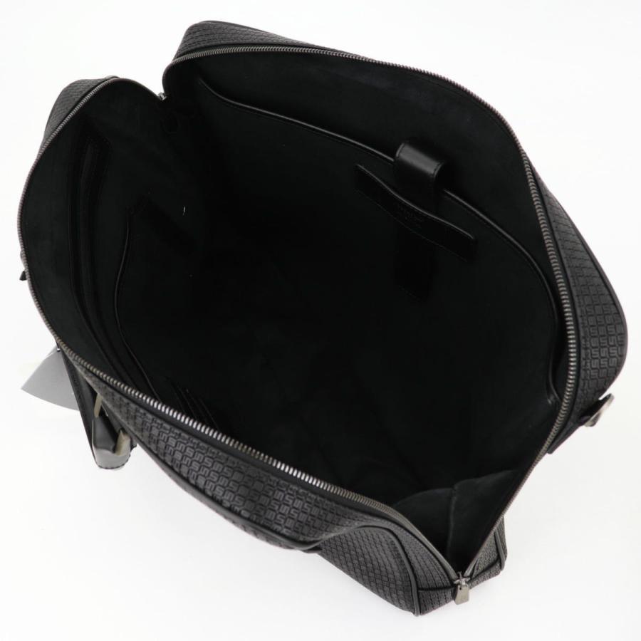 セラピアン SERAPIAN PVC型押し ブリーフケース SLIM BRIEFCASE Stepan STEP6929-M40 CG2 Black/Eclipse Black(ブラック)|laglagmarket|10
