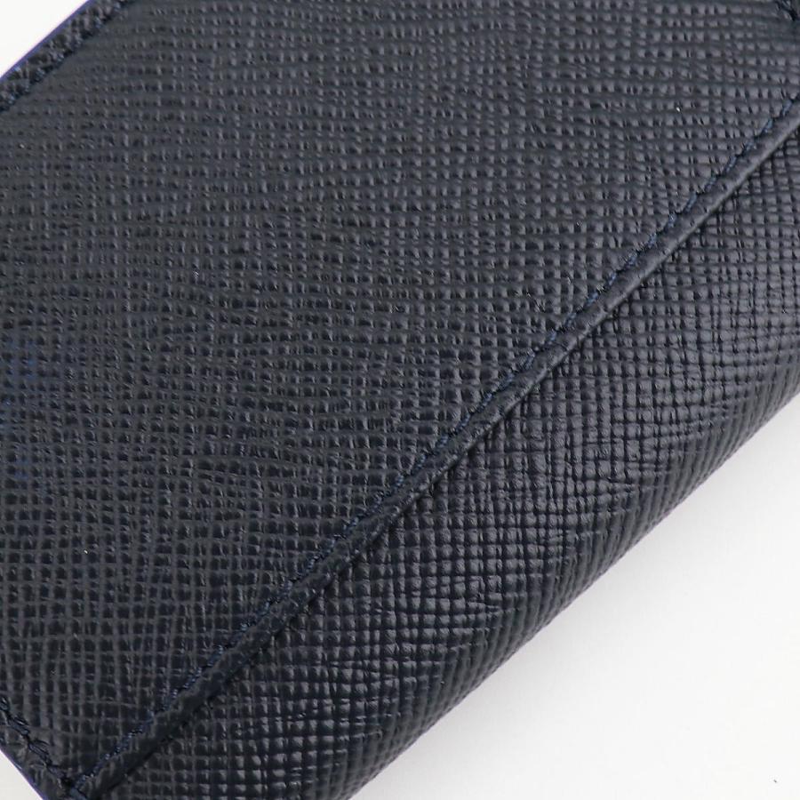 セラピアン SERAPIAN 型押しレザー カードケース 名刺入れ BUSINESS CARD CASE EVOLUZIONE EVOL6242-M08 149 Cobalt Blue(ネイビー)|laglagmarket|12