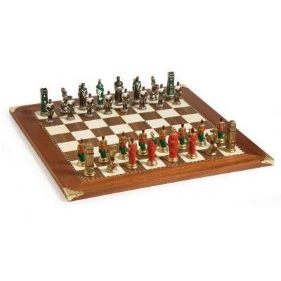 ハンニバル の 手書き イタリアン チェス セット  1 3/4 インチ マス ボード