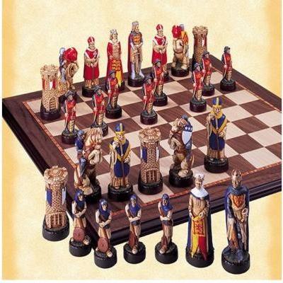 バノックバーン村の 戦い 手書き チェス ピース by スタジオ Anne Carlton【4インチ】
