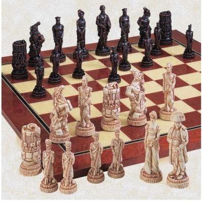 ワーテルローの戦い チェス ピース by スタジオ Anne Carlton【4.44インチ】