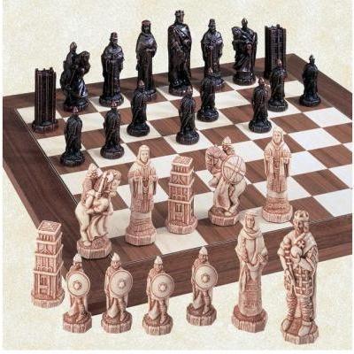 ヘイスティングズの戦い チェス ピース by スタジオ Anne Carlton【4.44インチ】