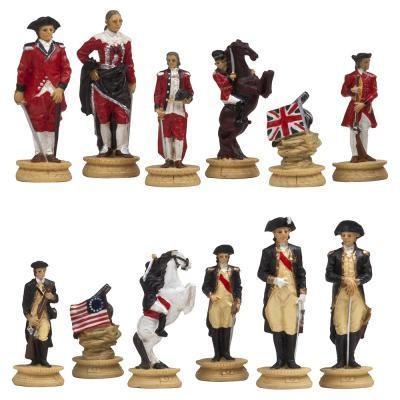 アメリカ 独立戦争 チェスピース【3.5インチ】