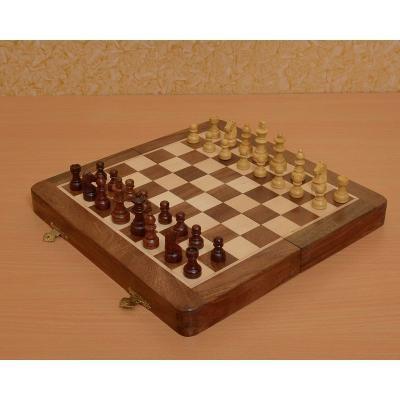 折り畳み マグネット式 トラベル チェスセット【12インチ】