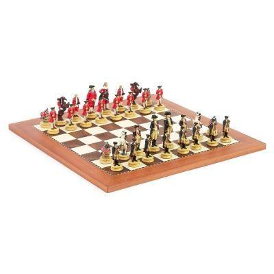 アメリカ独立戦争 チェスセット【17.5インチ】