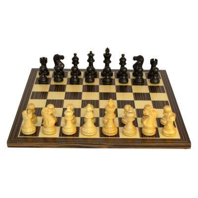 ブラック&ナチュラル アメリカン エンペラー チェスセット