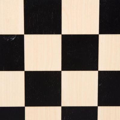 ブラック & メープル チェス ボード 【14インチ】