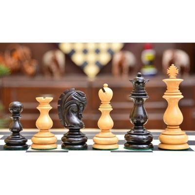 マルセル・デュシャン 1919 エボニー&ボックスウッド ヴィンテージ チェスピース 【4.5インチ】