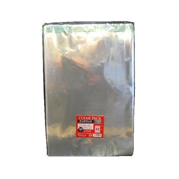 透明 ワンタッチOPP封筒TP31-43.5×1000枚 A3サイズ用 封緘テープつき