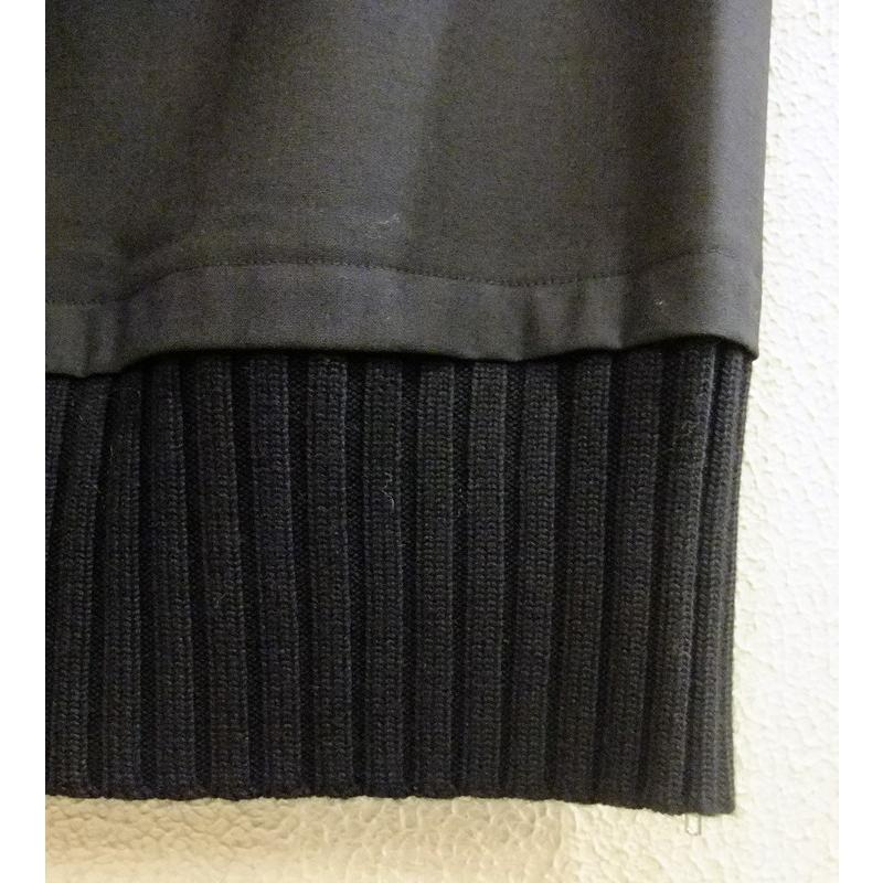 【 A.Gaspari 】 黒・ジッパー付スカート|lalala-33|02