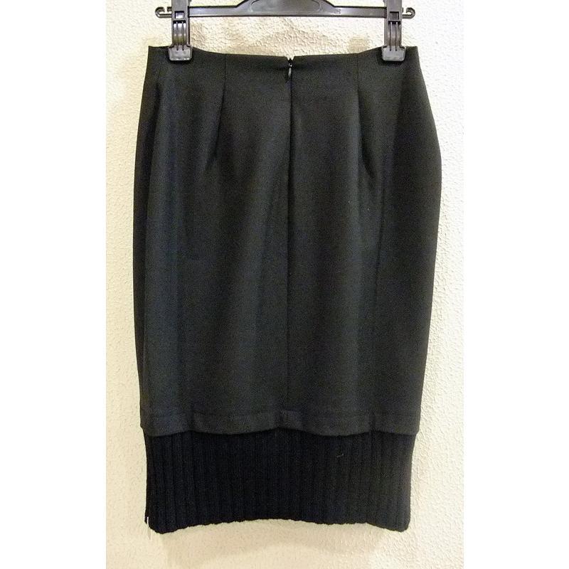 【 A.Gaspari 】 黒・ジッパー付スカート|lalala-33|05