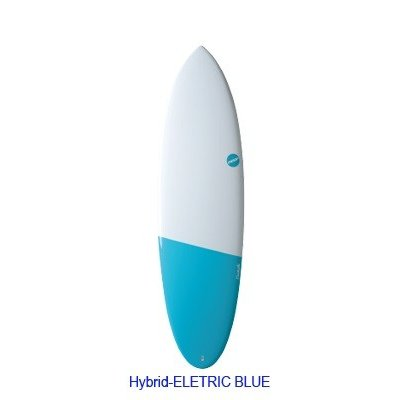NSP Surfboard EELEMENTS Hybrid 6.4 Eletric Blue NSP サーフボード ショートボード